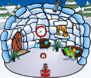 My Igloo ( it has puffle lancher )
