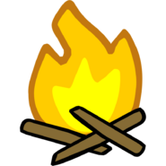 Prehistoric Fire Emote
