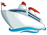 Cruise Ship Pin