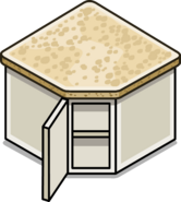 Granite Top Corner Cabinet sprite 002