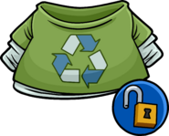 Green Recycle T-shirt unlockable icon