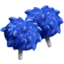 Pompones Azules