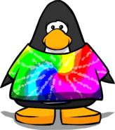 Tie Dye Shirt cutout