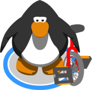 Unicycle in-game