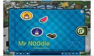 Album de estampillas de Mr N00dle