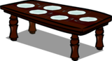 Rosewood Dinner Table sprite 005