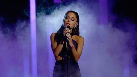 Ariana Grande Grammys 2015 Performance Just A Little Bit Of Your Heart