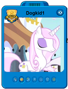 Dogkid1 player card