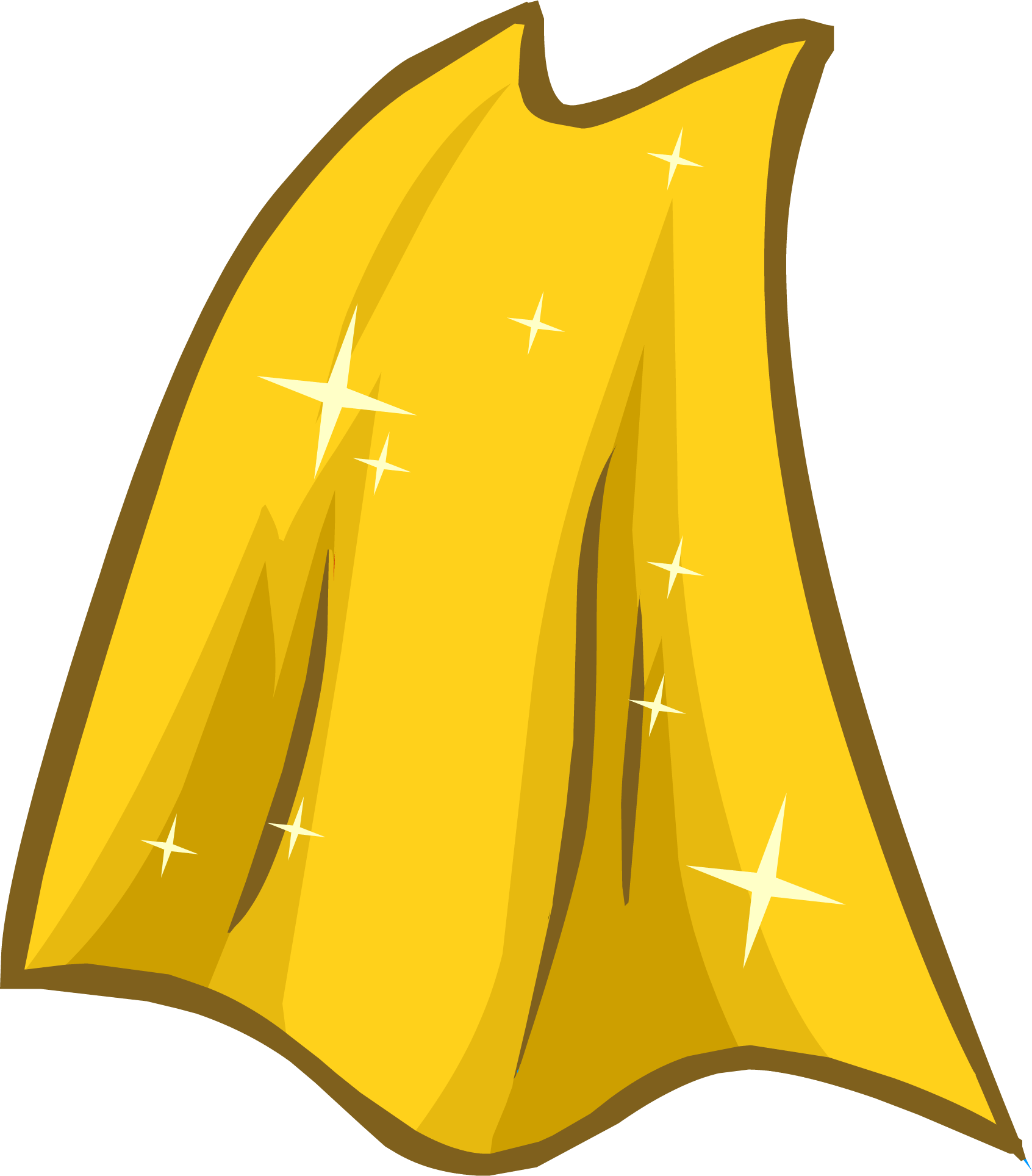 Gold Cape | Club Penguin Wiki | FANDOM powered by Wikia
