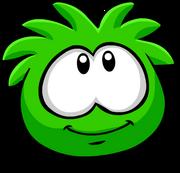Green PuffleSmile
