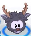 Puffle ciervo negro app