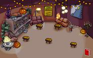 Biblioteca en halloween