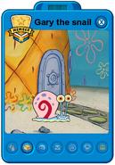 Gary the snail playercard