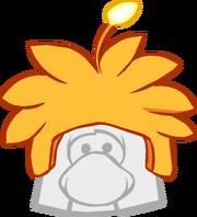 Gorrito de Extraterrestre Naranja icono