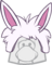 Gorro de Puffle Conejo icono