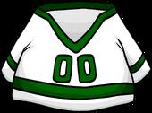Green Away Hockey Jersey clothing icon ID 4478