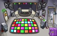 Puffle Party 2009 construction Night Club