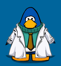 Gary´s new lab coat playercard