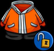 Orange Snowsuit unlockable icon