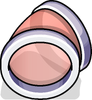 Puffle Tube Bend sprite 018