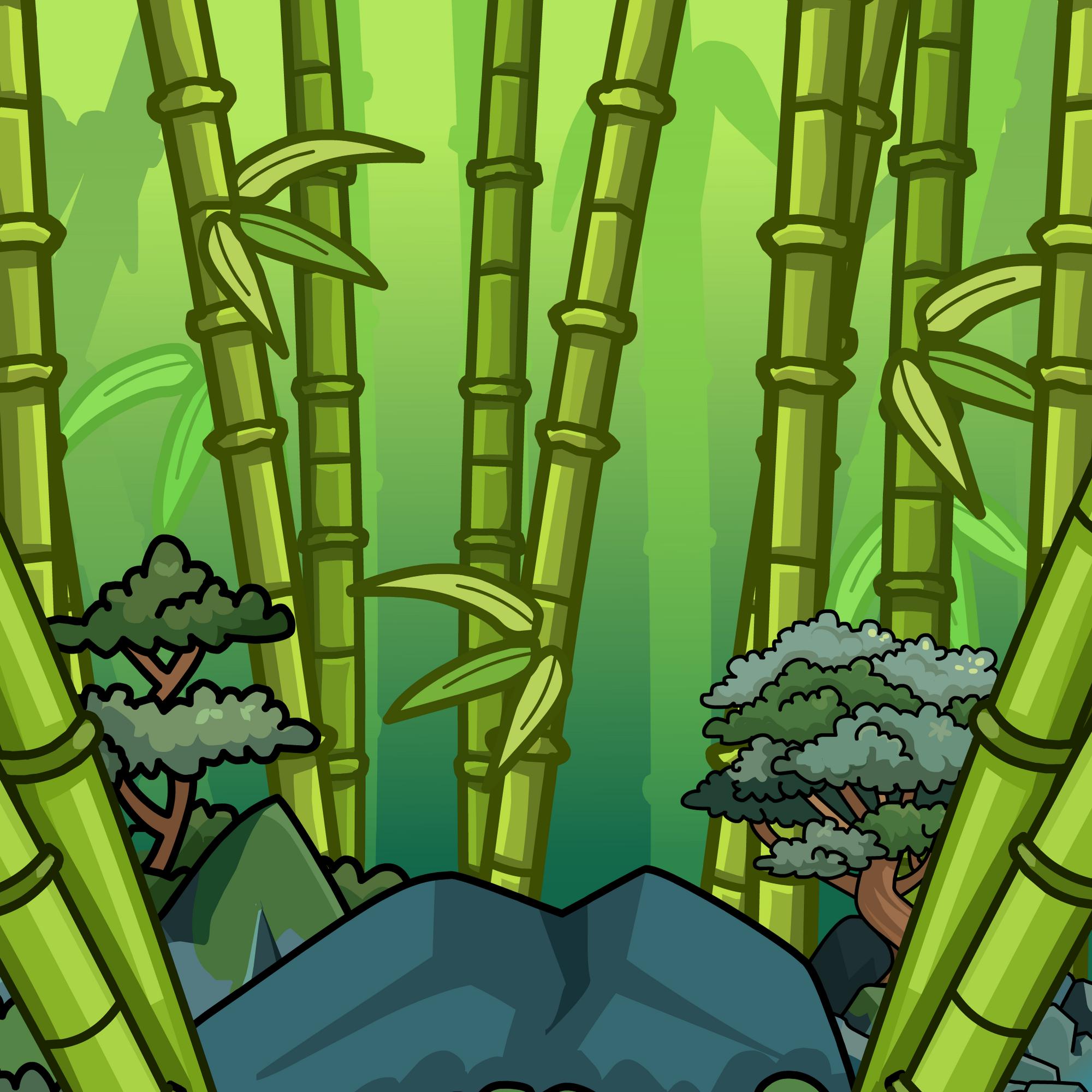 Bamboo Grove Background Club Penguin Wiki Fandom Powered By Wikia