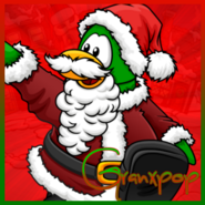 Granxpop Christmas Icon