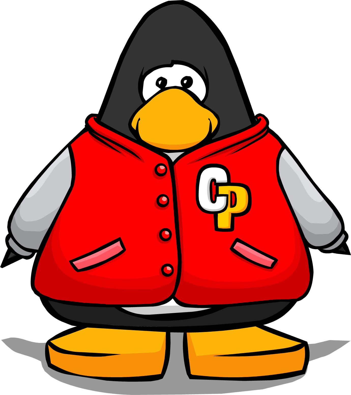 red letterman jacket club penguin wiki fandom powered by wikia
