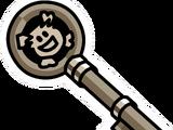 Rockhopper's Key Pin