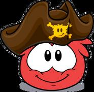 Sombrero de Espadachín Pirata cuidado