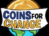 Tarjeta de Coins For Change