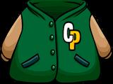 Green Letterman Jacket