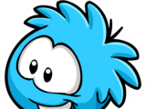 Blue Puffle Pin