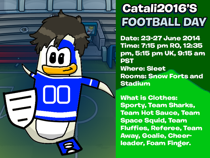 C2016's Football Day Invite