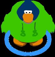 Cangurito de Puffito Verde juego