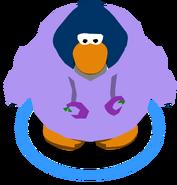 Cangurito de Puffito Violeta juego