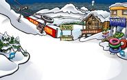 Great Storm of 2009 Ski Village