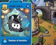 Puffle Unicornio Negro en el juego