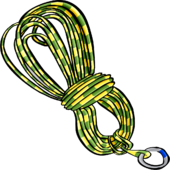 YellowClimbingRope