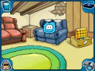 Blue puffle Lodge Attic