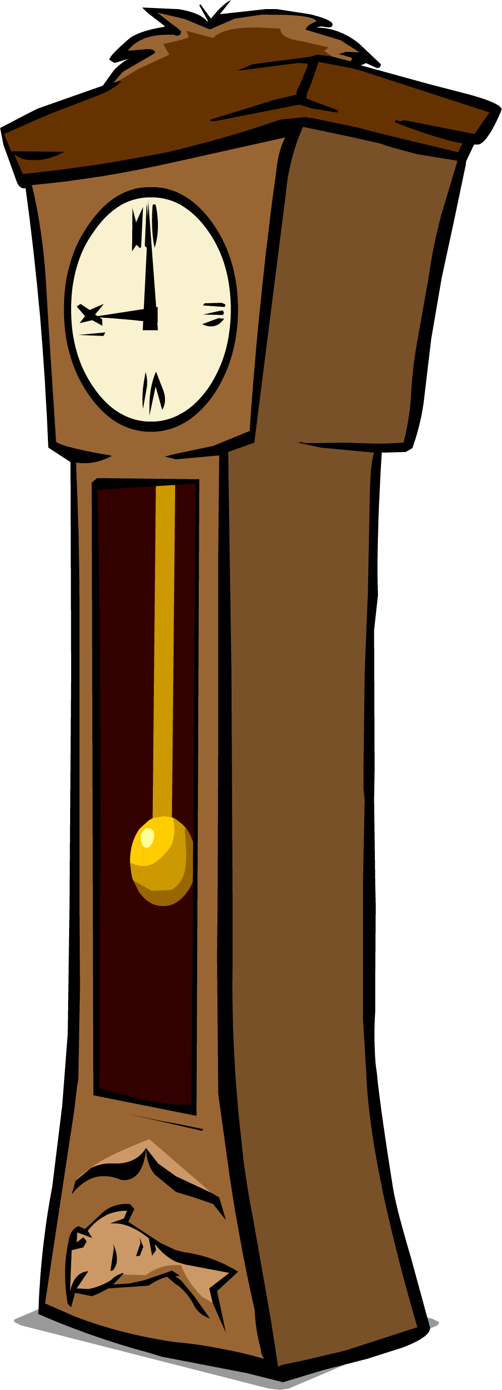 image grandfather clock sprite 002 png club penguin wiki rh clubpenguin wikia com Old Clock Clip Art grandfather clock clip art free