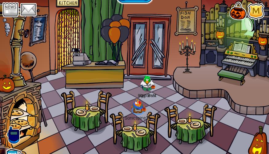 Image - Halloween 2008 Pizza Parlor PNG   Club Penguin Wiki   FANDOM