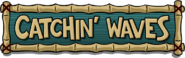 Old Catchin' Waves Logo