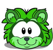 Puffle green1008 igloo
