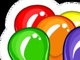 Balloon Bunch Pin
