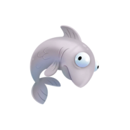 Fishing loot Silver Fluffy