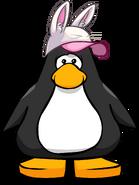 Gorra de Conejo Blanco carta