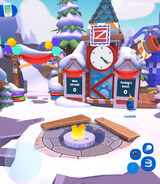 Mt Blizzard Grand Opening Clock Tower