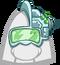 Sombrero de Cíborg icono