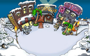 Winter Luau Town