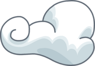 Wispy Clouds Icon